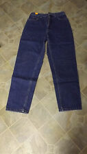 LAND'S END Straight Leg 5 Pocket Cotton Jeans 26X28 Women's 4  #660 EUC
