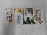 X5166 Super Famicom Final Fantasy IV V VI Chrono Trigger set FF SFC SNES w/box