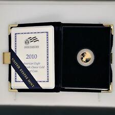 2010 American Eagle Proof $5 Gold Coin w/ Box & COA