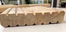 sibirische Lärche Terrassendielen Holzdielen 28x140 mm grob geriffelt