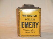 ANTIQUE WASHINTON MILLS EMERY TIN
