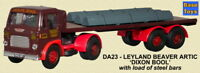 Base Toys Leyland Beaver Artic & Load DA23-Special OO Scale (suit HO also)