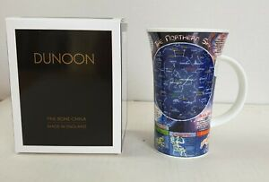 """Dunoon Fine Bone China """"The Northern Sky, The Southern Sky"""" Mug Brand New Boxed"""