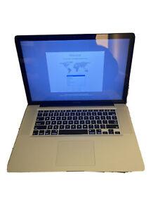 """Apple MacBook Pro A1286 2011 15"""" Quad i7-2675QM 2.2GHz 512GB SSD 16GB RAM"""