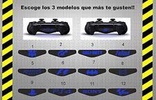 3 x pegatinas logotipos mando ps4 controller remote control vinilo adhesivo