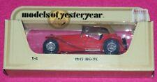 Models of Yesteryear Y-8 1945 MG-TC Matchbox Lesney Box
