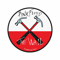 PINK FLOYD Hammers Woven Sew On Patch Official Licensed Band Merch