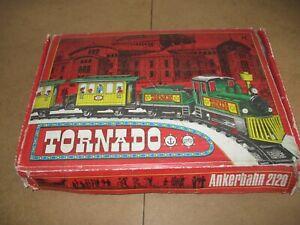 DDR Spielzeug Anker Uhrwerk Eisenbahn