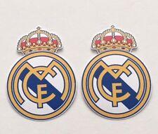 2x Real Madrid C.F. Laptop Car Window Bumper Wall Vinyl Decals Stickers