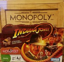 2008 INDIANA JONES special edition MONOPOLY - New ,sealed in wooden box