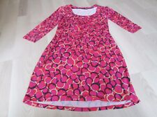 BODEN PRETTY ROUCHED  NECK DRESS SIZE 6