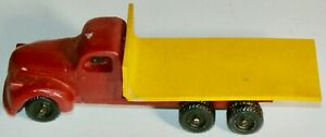 VERY RARE VINTAGE AUTHENTICAST HO SCALE LEAD CAST CHEVY TRUCK DUAL REAR AXLES