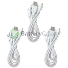 3 NEW USB 10FT Micro Charger Cable Cord for Phone Samsung Rugby 4 / LG G2 G3 G4