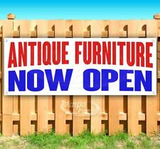 Antique Furniture Now Open Advertising Vinyl Banner Flag Sign Many Sizes