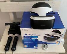 PlayStation VR PSVR Bundle, PlayStation Camera, 2 x PlayStation Move Controllers