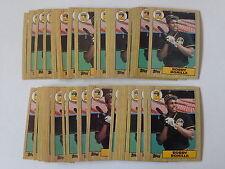 Bobby Bonilla 1987 Topps Baseball Rookie Card #184 - 50 Card Lot