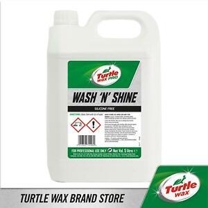 Turtle Wax Pro Wash & Shine Car Shampoo 5 Litre