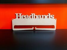 Mdf headband Holder 34cm x 14.5cm 4mm medite premier mdf