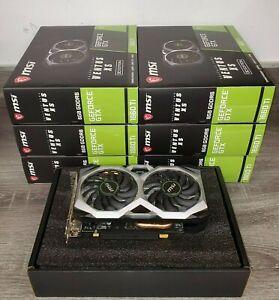 MSI GeForce GTX 1660 Ti VENTUS XS OC Graphics Card (G1660TVXS6C)