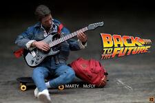 回到未來hot toys Exclusive Marty McFly Michael J. Fox BTTF Back to the Future MMS257