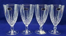 """Waterford Sparkle (4) Iced Tea Beaverage Glasses, 6 3/4"""" New with Tags"""