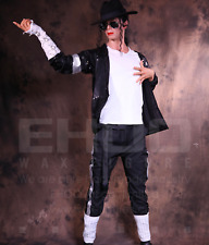 Life Size Michael Jackson Dance Posing Statue Prop Display Style Sing Music 1:1