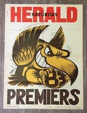 1983 Hawthorn Hawks Premiers Poster 100% Original WEG