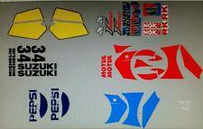 SUZUKI RG250 VJ21 FOR PEPSI BIKE VERSION DECAL KIT