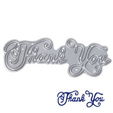 Thank You Metal Cutting Dies Stencil DIY Scrapbooking Album Card Embossing Craft