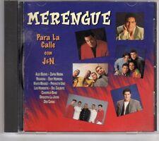 (GK528) Merengue Para La Calle Con J&N - 1995 CD