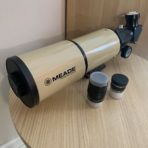 Meade 80mm telescope with upgrades!