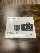 Canon EOS M50 Mirrorless Cameras with Kit Lens (BRAND NEW IN BOX)