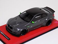 1/18 GT Spirit Street BMW M3 LB Performance  Grey Liberty walk GT127 Red Leather