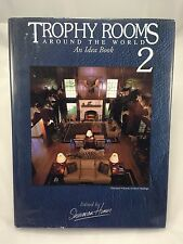 Trophy Rooms Around The World 2 by Sherman Hines. Book Taxidermy Safari Big Game