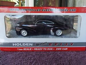 HOLDEN HEROES EFIJY 1:18 SCALE RC CAR AS NEW NEVER TAKEN FROM BOX $325 o.n.o