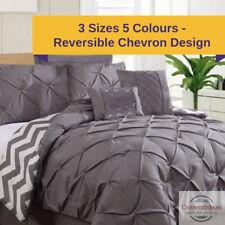 Ramesses 7 Piece Pinch Pleat Comforter Set | Coverlet Sets |  7pc Comforters