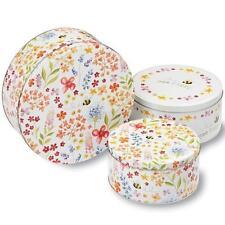 Bee Happy Design Kitchen Cupcake Cup Cake Cookie Biscuit Storage Tin Gift Box