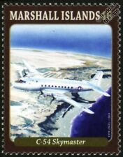 DOUGLAS C-54 SKYMASTER (DC-4) WWII Military Transport Aircraft Stamp (2013)