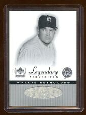 ALLIE REYNOLDS 2000 UD LEGENDARY PINSTRIPES JERSEY SP  MINT   RARE SHORT PRINT