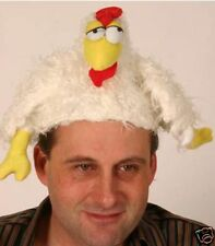 Chicken Hat Farm Yard Animal Fancy Dress Costume