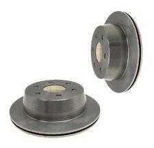 2 x REAR BRAKE DISC 325mm FOR CADILLAC ESCALADE 2002 W/ 6-STUD WHEELS