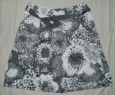 Women H&M Floral Multi-Color A-Line Casual Work Knee Length Skirt Size 6