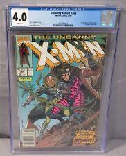 THE UNCANNY X-MEN #266 (Gambit 1st appearance) CGC 4.0 VG Marvel Comics 1990