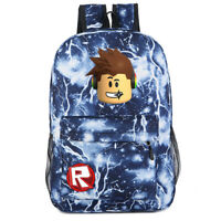 Roblox  Students Backpack Kids School Bag Bookbag Handbags Travelbag Fashion New