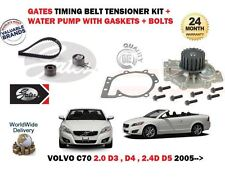 FOR VOLVO C70 2.0 2.4 D3 D4 D5 2006-2013 TIMING CAM BELT & WATER PUMP KIT