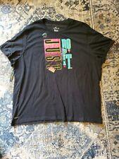 NWT Men's Black Nike Just Do It Tee T-Shirt Size 4XL