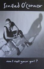 """40x60"""" HUGE SUBWAY POSTER~Sinead O'Connor 1992 Am I Not Your Girl? NOS Original~"""