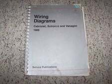 1989 VW Volkswagen Scirocco Electrical Wiring Diagram Service Repair Manual
