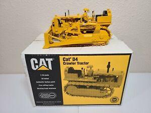 Caterpillar Cat Model D4 Crawler with Blade - Riecke CCM 1:16 Scale Model New!