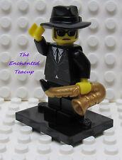 Lego Minifigure Series 11 Saxophone Player  - New